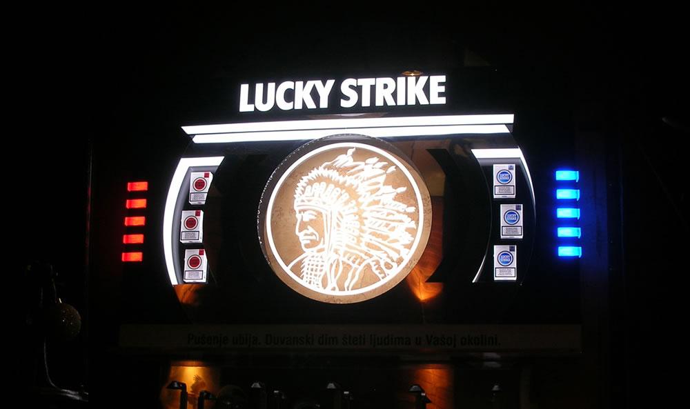 Lucky Strike / BAT / Zidni dispenzer