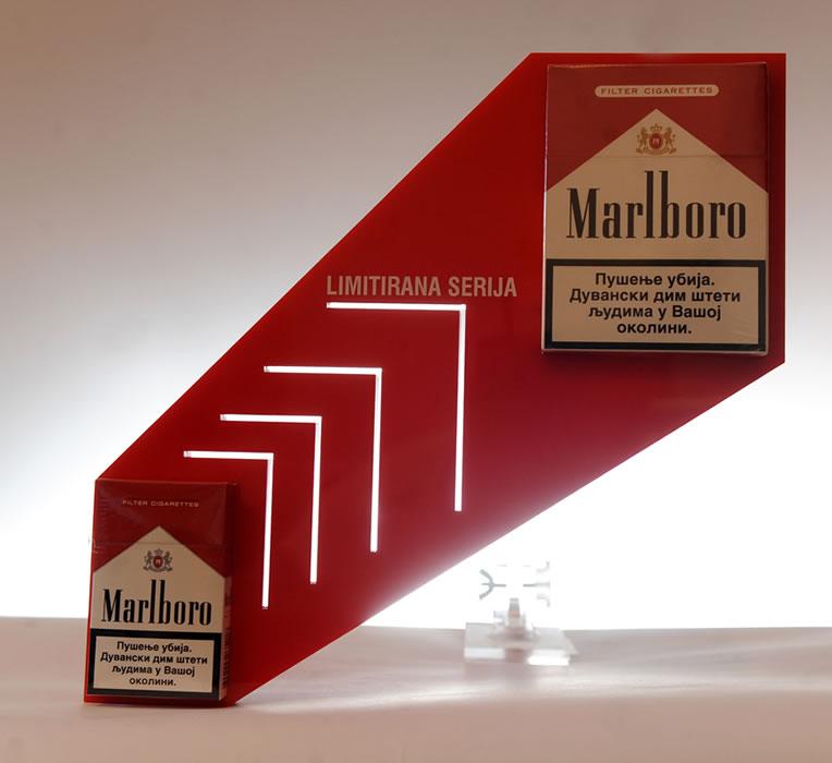 Marlboro / Phillip Morris / Ekstenzija za prodajnu policu