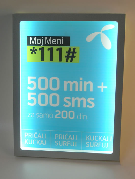 Telenor / Kiosk dispenser