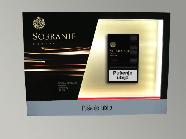 Sobranie / JTI / Kiosk dispenzer