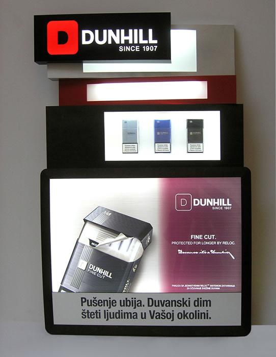 Dunhill / BAT  / Displej